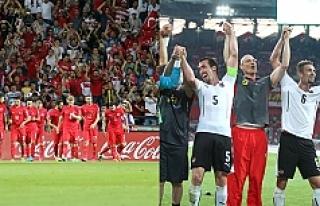 Türkiye A Milli Futbol Takımı, Avusturya'ya...