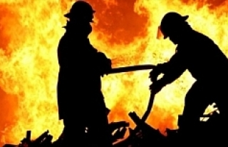 Viyana'da yangın:6 yaralı