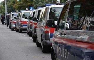 Viyana Polisi, Favoriten'de bina işgalini sonlandırdı