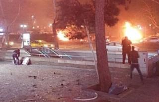 Ankara'da büyük patlama: Çok sayıda yaralı...