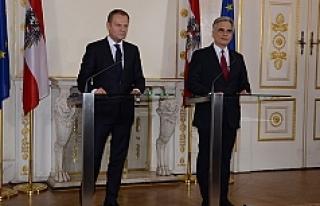 Başbakan Faymann: 'Bu kaos politikası durdurulmalı'