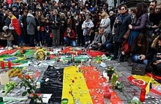 Belçika terör saldırılarında ölenlerin yasını...