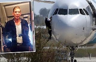 Mısır uçağını eski karısı için Güney Kıbrıs'a...