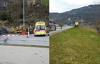 Vorarlberg'te feci kaza: 1 ölü