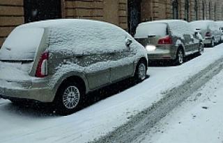 Avusturya'da kar yağışı, bazı bölgelerde...