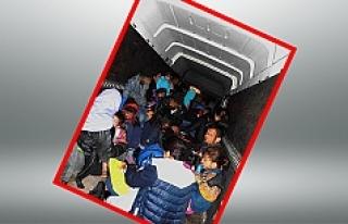Avusturya polisi 16'sı çocuk 27 sığınmacıyı...