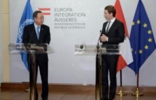 BM Genel Sekreteri Ban Viyana'da: 'İslamofobik...