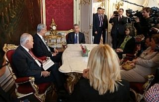 Cumhurbaşkanı Fischer, Volkan Bozkır ile görüştü
