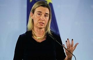 Mogherini'den 'Irak' açıklaması