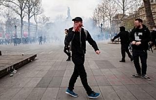 Paris karıştı: 22 gözaltı