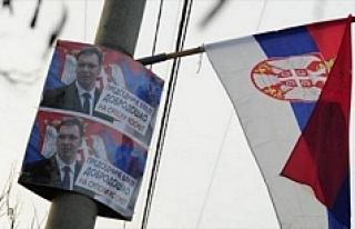 Sırbistan'da halk sandık başında