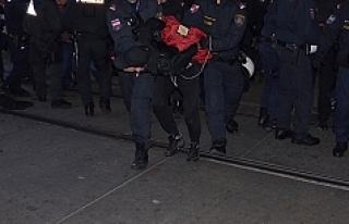 Viyana'da olaylı gösteri: 4 Gözaltı