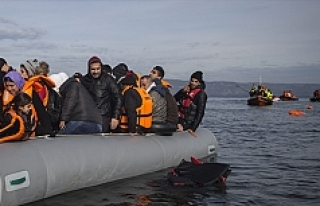 Yunan adalarına göçmen geçişleri devam ediyor