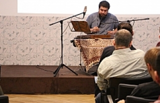 Santuri Sedat Anar Viyana'da konser verdi