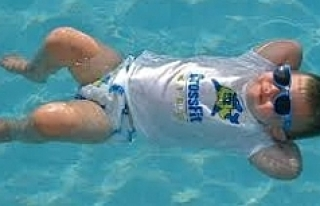 Bir saat sırt üstü yüzerseniz...