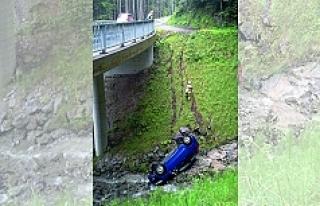 Vorarlberg'te fotoğraf çekme isteği, arabayı...