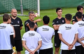 Beşiktaş'ın Avusturya'daki mesaisi başladı
