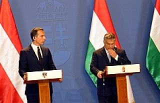 Christian Kern - Viktor Orban görüşmesi sonrası...
