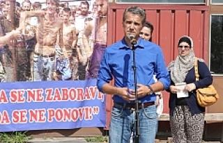 Keraterm kampında katledilen 200 Boşnak törenle...