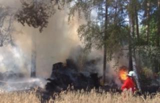 Güney Fransa yanıyor