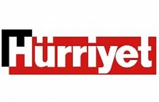 Hürriyet Gazetesi, Viyana Havalimanında verdiği...