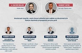 İşte Avusturyalı siyasetçilerin Türkiye 'oy'unu