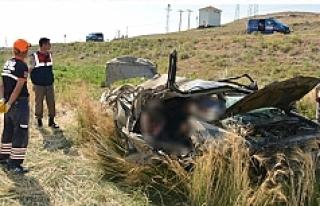 Yozgatlı gurbetçi aile kaza yaptı: 2 ölü 1 yaralı
