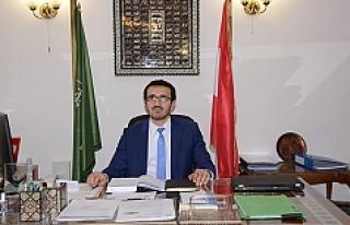 Avusturya İslam Cemaati Başkanı Olgun'dan...