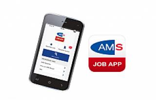 AMS aplikasyonu ile uygun işi bulmak artık daha...