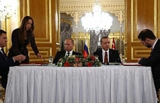 Türkiye ve Rusya 'Türk Akımı'nı imzaladı