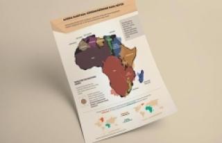 Afrika haritada göründüğünden daha büyük