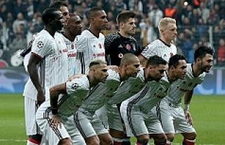 Beşiktaş bu kadroyla tarihe geçti