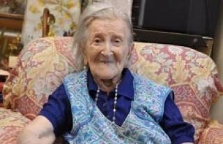 Dünyanın en yaşlı kadını 117'nci doğum...