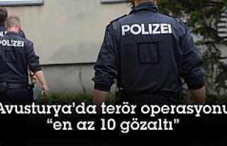 Avusturya'da eş zamanlı terör operasyonu: En...