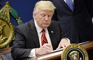 Trump imzaladı uçağa alınmadılar