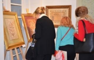 Viyana'da geleneksel Türk sanatları sergisi