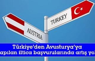 Türkiye'den Avusturya'ya yapılan iltica...