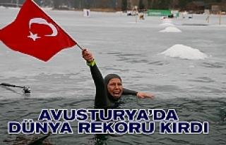 Türkiye'nin milli sporcusundan Avusturya'da...