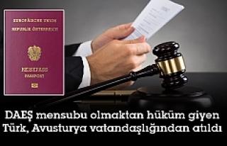 37 yaşındaki Türk, Avusturya vatandaşlığından...
