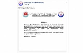 Avusturya Türk Federasyonu'nun İlkbahar programları...