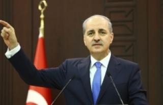 Kurtulmuş: 'Türkiye bunları seyredip duracak...