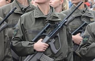 Avusturya ordusunda görevli kadın asker sayısı...