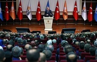 Erdoğan 979 gün sonra AK Parti'ye üye oldu