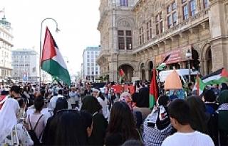 Viyana'da İsrail'in Mescid-i Aksa'ya...