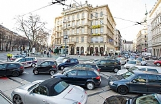Viyana   Ring meydanının trafiğe kapatılmasının...