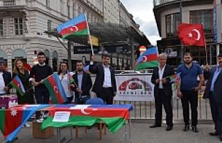 "Viyana'da ""Ermenistan"" protesto edildi"
