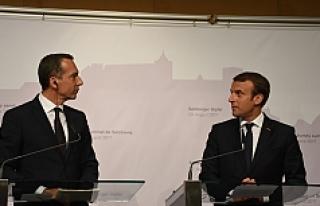 Avusturya'da kritik zirvede liderler buluştu