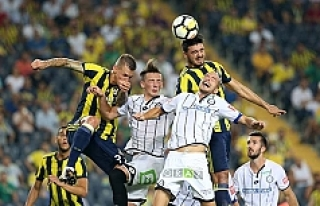 Fenerbahçe, Sturm Graz'ı eledi