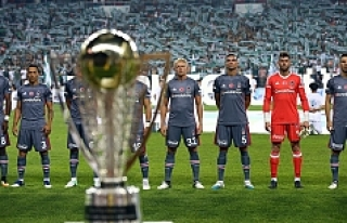 Süper Kupa'yı Beşiktaş'ı 2-1 Yenen...
