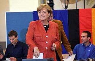 Almanya'da seçim sonuçları büyük oranda...